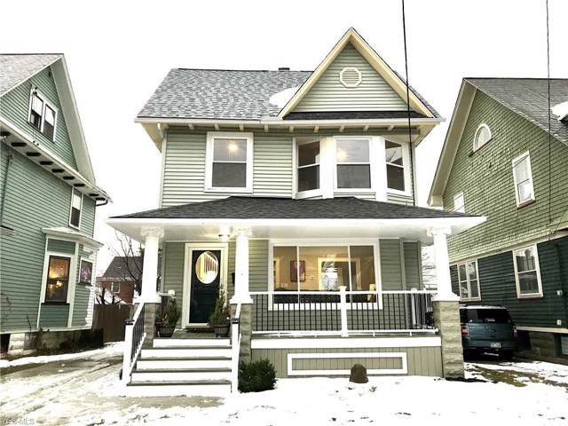 1614 Robinwood Avenue, Lakewood, OH 44107 (MLS #4159970) :: The Crockett Team, Howard Hanna