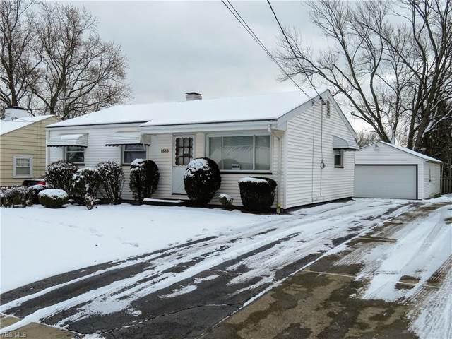 1653 Thalia Avenue, Youngstown, OH 44514 (MLS #4166912) :: The Crockett Team, Howard Hanna