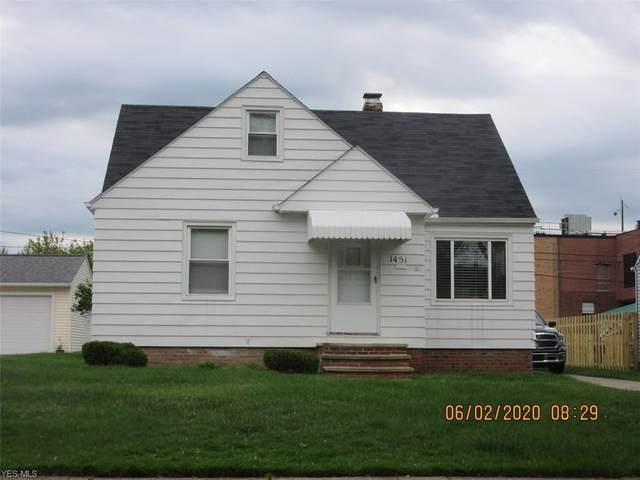 1451 Eastwood Avenue, Mayfield Heights, OH 44124 (MLS #4193326) :: The Crockett Team, Howard Hanna