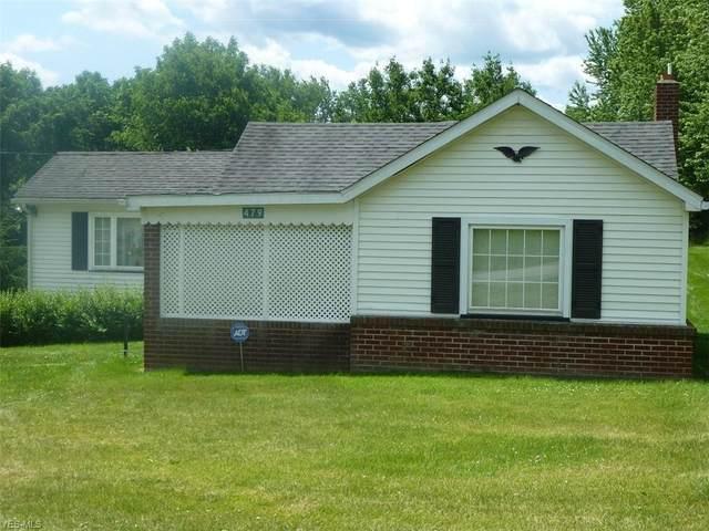 479 Ward Drive, Steubenville, OH 43953 (MLS #4200472) :: Keller Williams Chervenic Realty