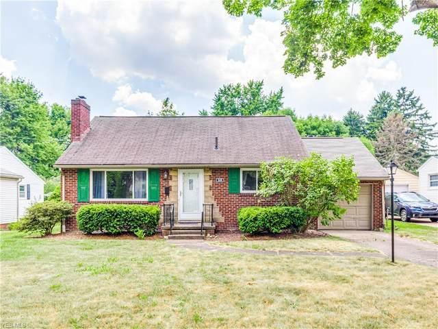 500 Woodrow Street NW, North Canton, OH 44720 (MLS #4204323) :: Keller Williams Chervenic Realty