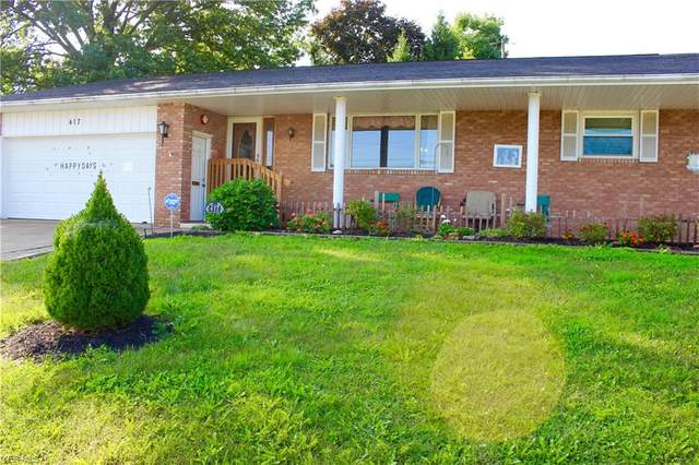 417 Lake Avenue NE, Massillon, OH 44646 (MLS #4225094) :: Keller Williams Chervenic Realty