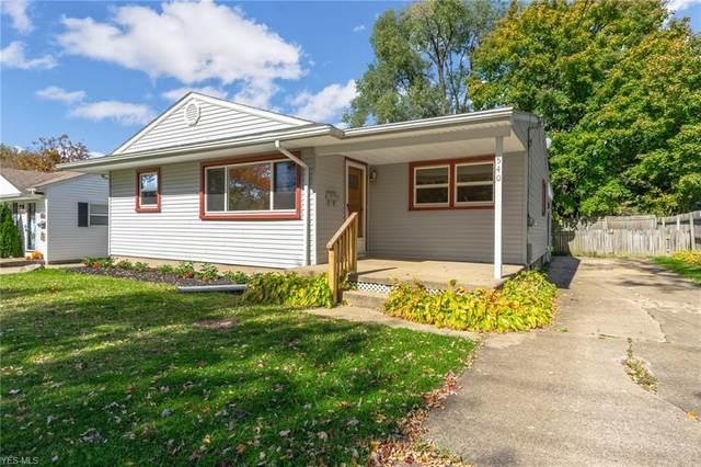 540 Moore Street, Hubbard, OH 44425 (MLS #4232491) :: Keller Williams Chervenic Realty
