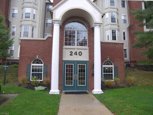 240 Fox Hollow Drive #104, Mayfield Heights, OH 44124 (MLS #4236527) :: The Crockett Team, Howard Hanna