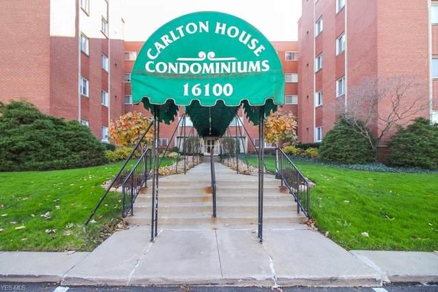 16100 Van Aken Boulevard #403, Shaker Heights, OH 44120 (MLS #4238605) :: The Holden Agency
