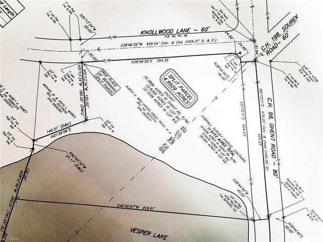 Lot AB Ghent Road, Fairlawn, OH 44333 (MLS #4254725) :: Keller Williams Chervenic Realty