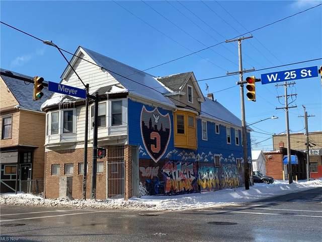 3260 W 25th Street, Cleveland, OH 44109 (MLS #4256895) :: The Kaszyca Team