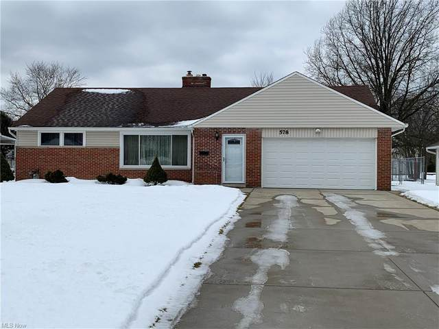 578 Meadowlane Drive, Richmond Heights, OH 44143 (MLS #4257824) :: The Holden Agency