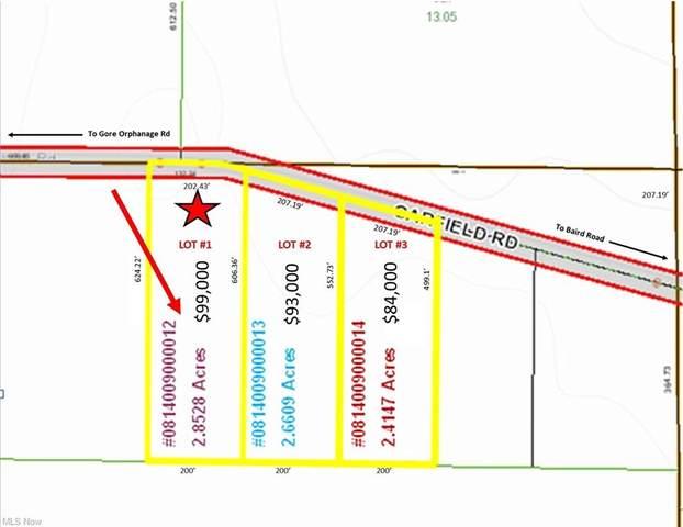 Lot #1 Garfield Road, Wakeman, OH 44889 (MLS #4293552) :: The Kaszyca Team