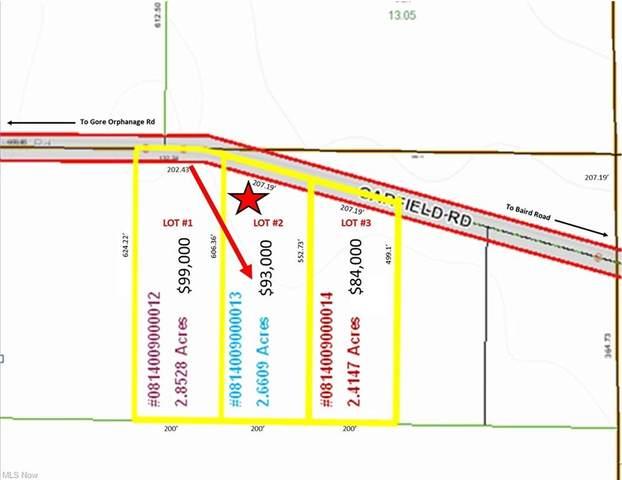 Lot #2 Garfield Road, Wakeman, OH 44889 (MLS #4293673) :: The Kaszyca Team