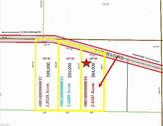 Lot #3 Garfield Road, Wakeman, OH 44889 (MLS #4293688) :: The Kaszyca Team