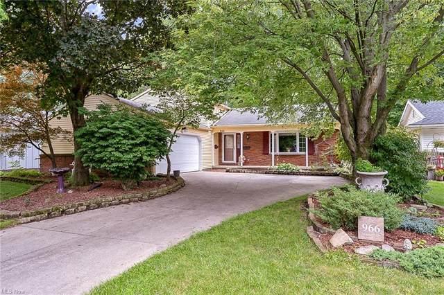 966 Bennett Drive, Elyria, OH 44035 (MLS #4299034) :: The Holden Agency