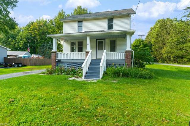 807 Columbia Avenue, Newton Falls, OH 44444 (MLS #4303134) :: The Holden Agency