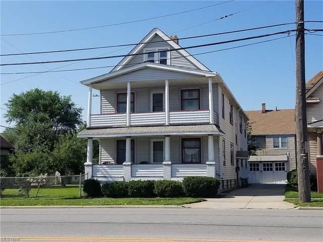5295 Harvard Avenue, Newburgh Heights, OH 44105 (MLS #4307104) :: The Holden Agency