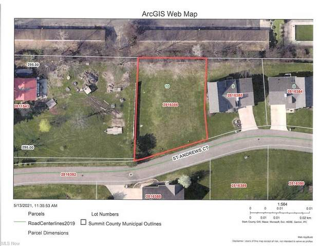 Lot 10 St Andrews Court, Akron, OH 44312 (MLS #4309316) :: The Art of Real Estate