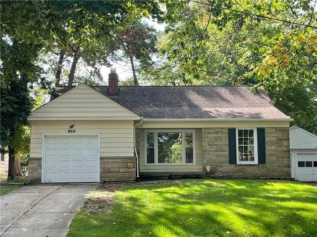 988 Keystone Drive, Cleveland Heights, OH 44121 (MLS #4325813) :: RE/MAX Edge Realty
