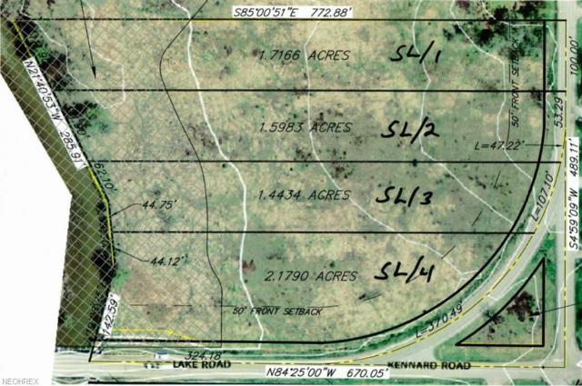 S/L-3 Lake Rd, Chippewa Lake, OH 44215 (MLS #3921932) :: Keller Williams Chervenic Realty