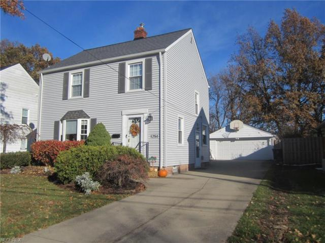 1251 Gordon Rd, Lyndhurst, OH 44124 (MLS #3957568) :: The Crockett Team, Howard Hanna