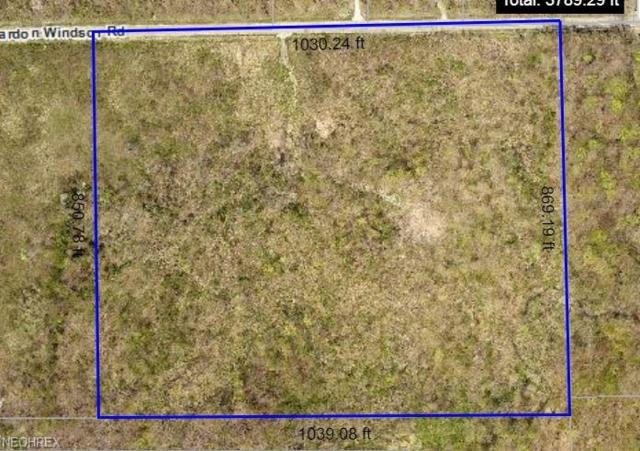 Lot 1 Chardon Windsor, Huntsburg, OH 44046 (MLS #3996364) :: The Crockett Team, Howard Hanna
