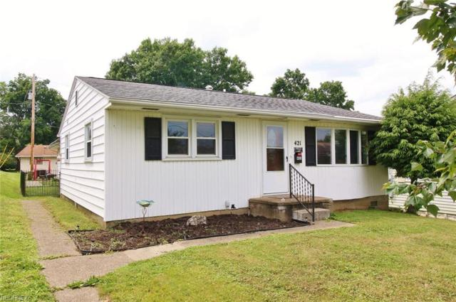 421 Elizabeth St, Crooksville, OH 43731 (MLS #4012437) :: The Crockett Team, Howard Hanna