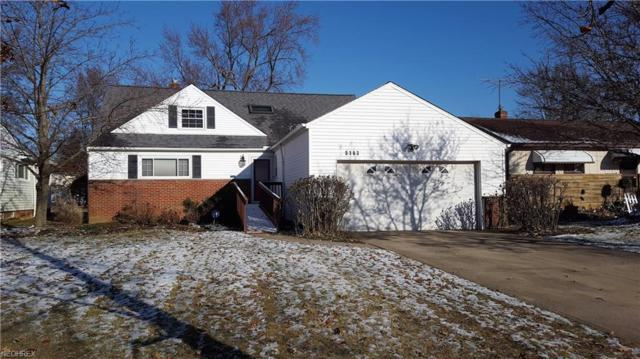 5163 Thornbury Rd, Lyndhurst, OH 44124 (MLS #4013314) :: The Crockett Team, Howard Hanna