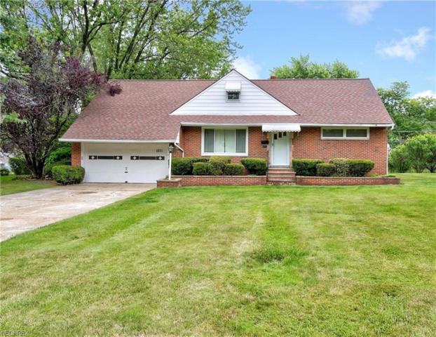 1831 Sunset Drive, Richmond Heights, OH 44143 (MLS #4013412) :: RE/MAX Edge Realty