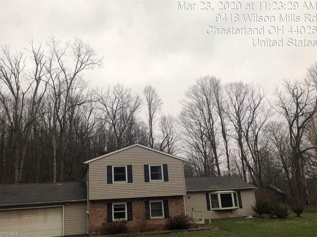 9418 Wilson Mills Road, Chesterland, OH 44026 (MLS #4163940) :: The Crockett Team, Howard Hanna
