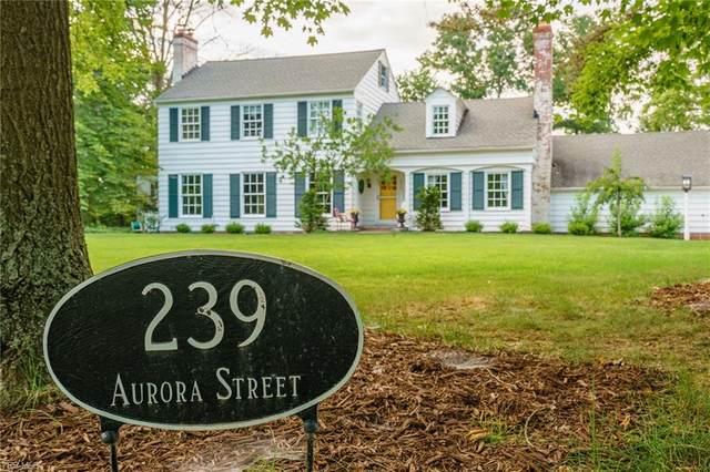 239 Aurora Street, Hudson, OH 44236 (MLS #4210351) :: The Jess Nader Team | RE/MAX Pathway