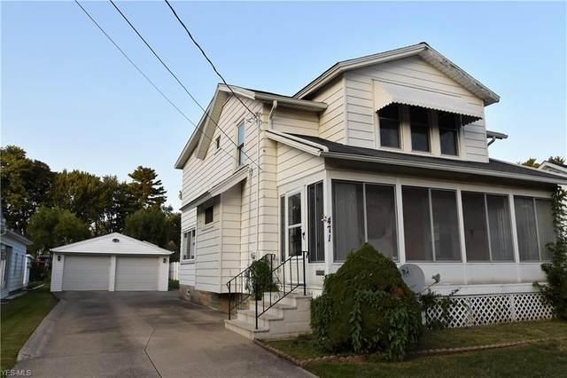 471 Elyria Avenue, Amherst, OH 44001 (MLS #4223071) :: Keller Williams Chervenic Realty