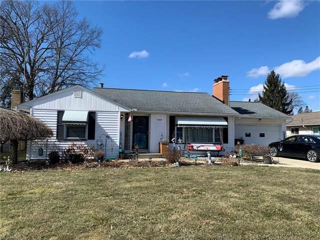 1439 Guarnieri Drive NE, Warren, OH 44483 (MLS #4260045) :: The Art of Real Estate
