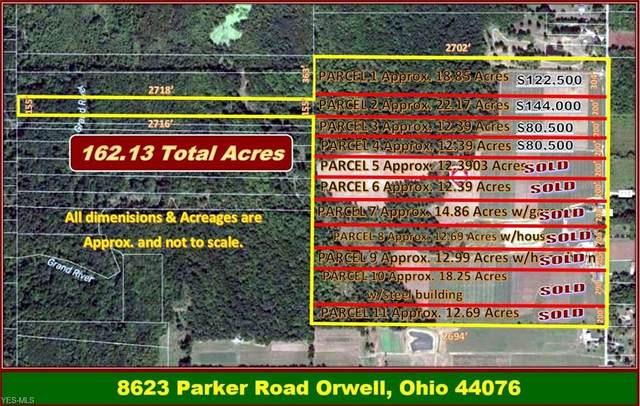 8623 Parker Road Vl 3, Orwell, OH 44076 (MLS #4094619) :: The Holden Agency