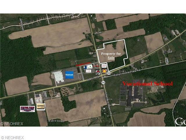 State Route 58, Oberlin, OH 44074 (MLS #3674351) :: RE/MAX Edge Realty