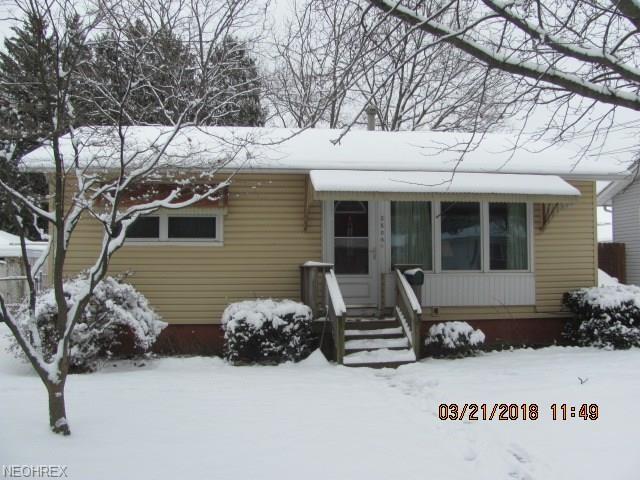 2805 Wingate Ave, Akron, OH 44314 (MLS #3982667) :: Keller Williams Chervenic Realty