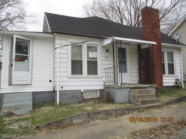 519 Walnut St, Pleasant City, OH 43772 (MLS #3984920) :: Keller Williams Chervenic Realty