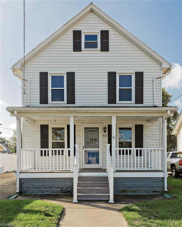 438 5th St, Fairport Harbor, OH 44077 (MLS #4038944) :: The Crockett Team, Howard Hanna