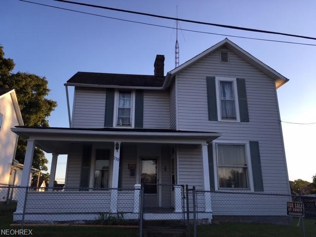 230 Sand St, Crooksville, OH 43731 (MLS #4043453) :: The Crockett Team, Howard Hanna