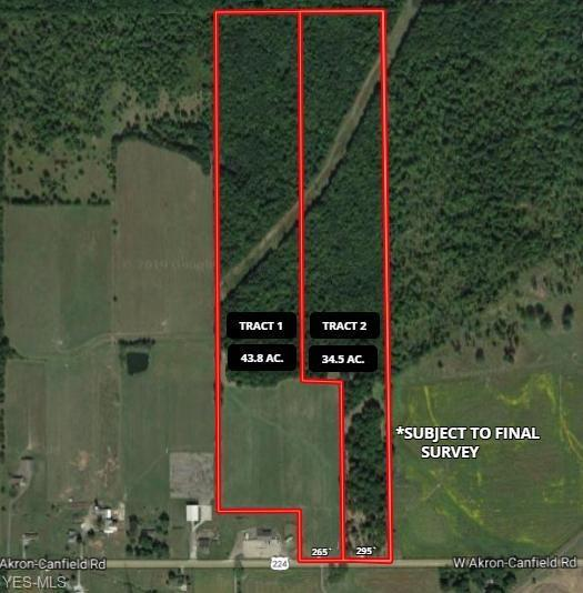 W Akron Canfield Rd, Berlin Center, OH 44401 (MLS #4072802) :: RE/MAX Edge Realty