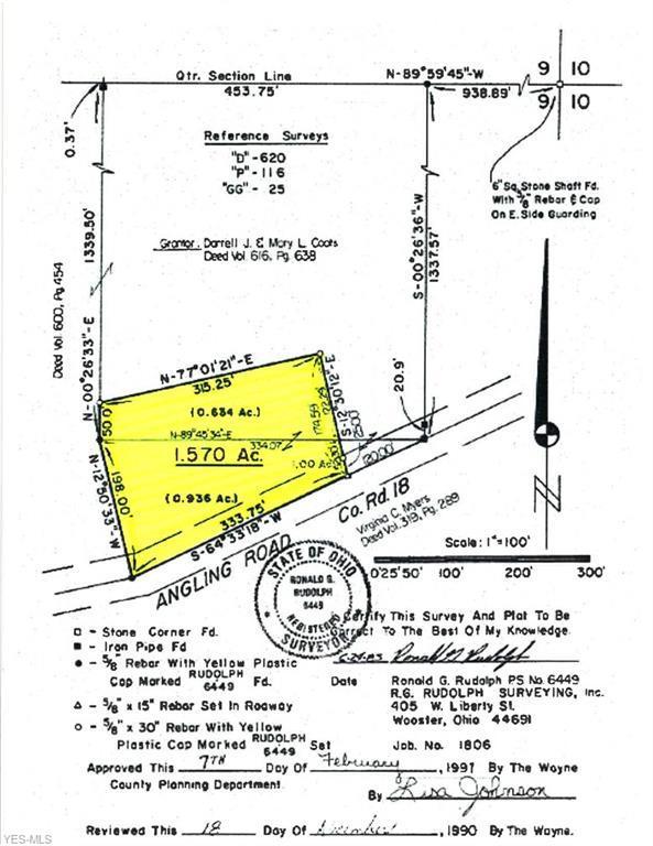 Angling Road, Wooster, OH 44691 (MLS #4087201) :: The Crockett Team, Howard Hanna