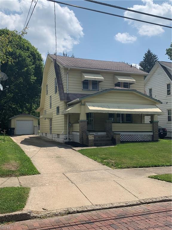 487 Oxford Avenue, Akron, OH 44310 (MLS #4113933) :: The Crockett Team, Howard Hanna