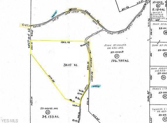 62333 Willow Road, Quaker City, OH 43773 (MLS #4114205) :: The Crockett Team, Howard Hanna