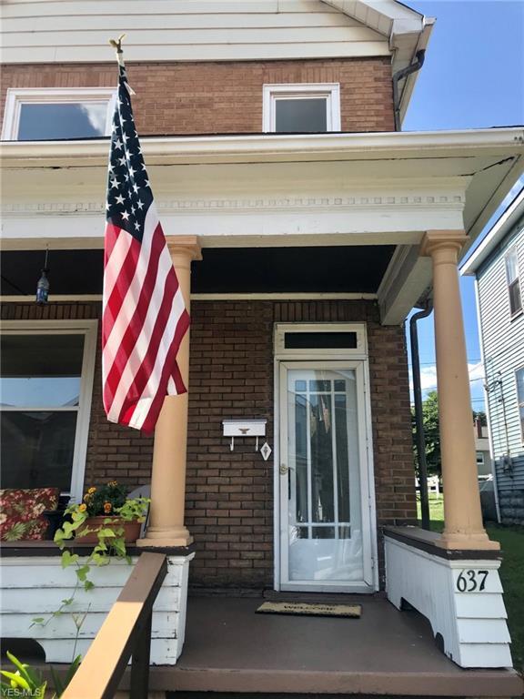 637 Banfield Avenue, Follansbee, WV 26037 (MLS #4118572) :: The Crockett Team, Howard Hanna