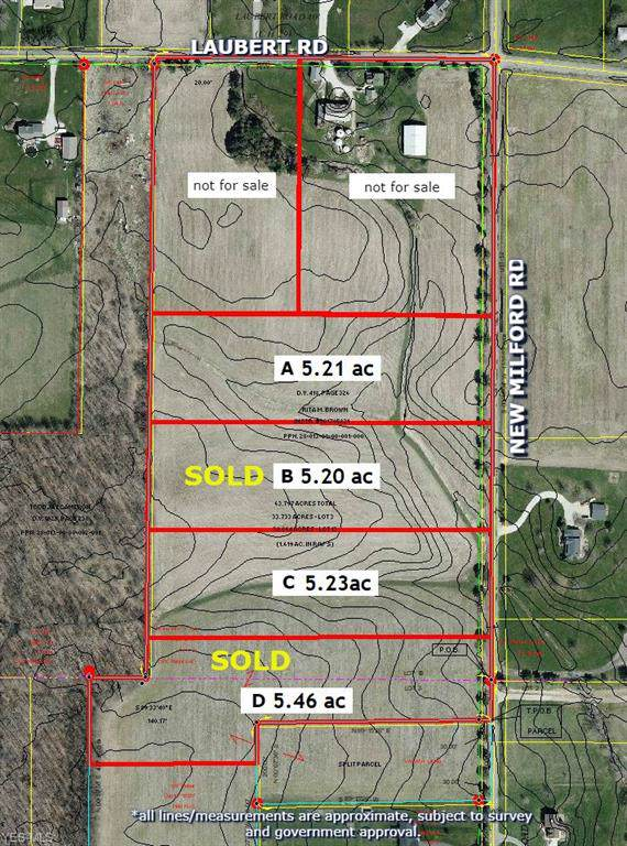 Parcel A New Milford Road, Atwater, OH 44201 (MLS #4126536) :: The Crockett Team, Howard Hanna