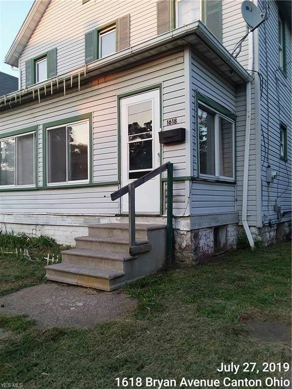 1618 Bryan Avenue SW, Canton, OH 44706 (MLS #4126817) :: The Crockett Team, Howard Hanna