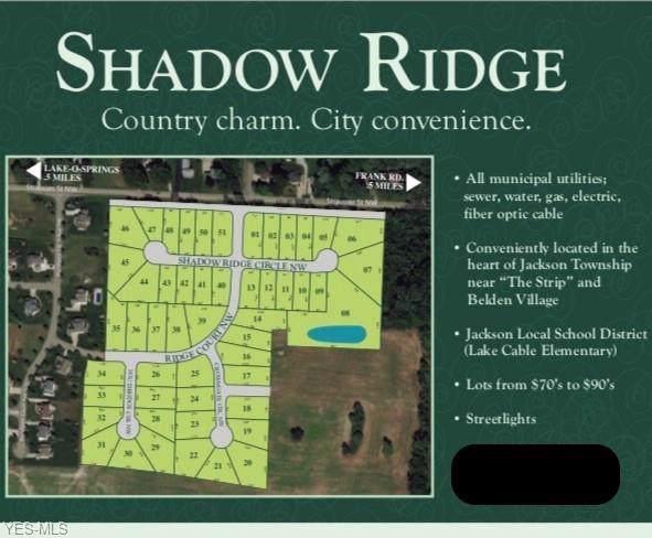 5599 Shadow Ridge Circle NW, North Canton, OH 44720 (MLS #4142751) :: Keller Williams Chervenic Realty