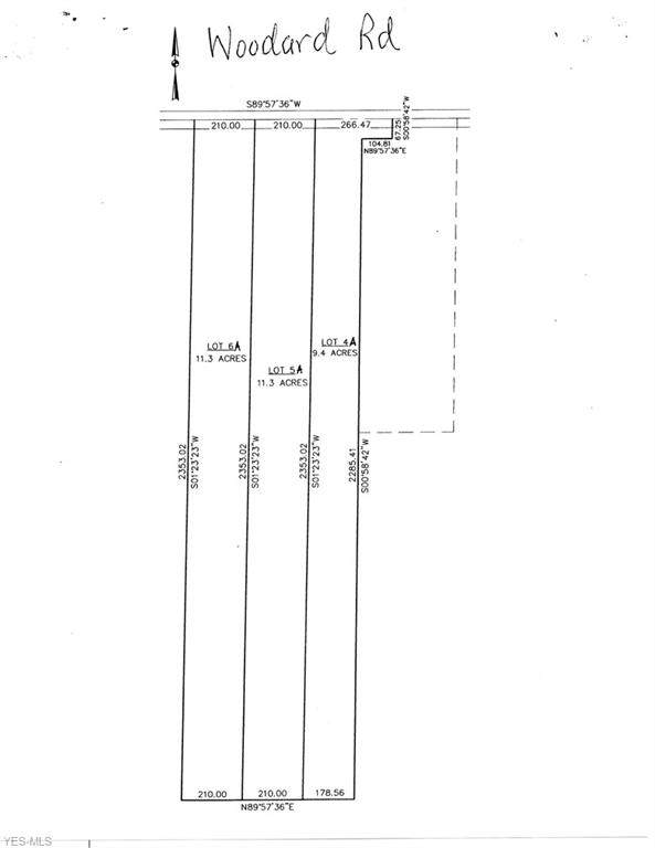 5A Woodard Road, Richmond, OH 44003 (MLS #4193666) :: Select Properties Realty