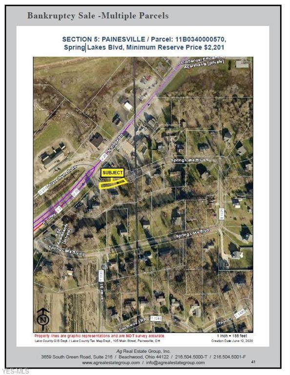 Spring Lakes Boulevard, Painesville, OH 44077 (MLS #4203569) :: The Art of Real Estate