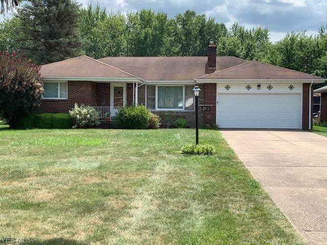 245 Richards Drive, Youngstown, OH 44505 (MLS #4215090) :: Keller Williams Chervenic Realty