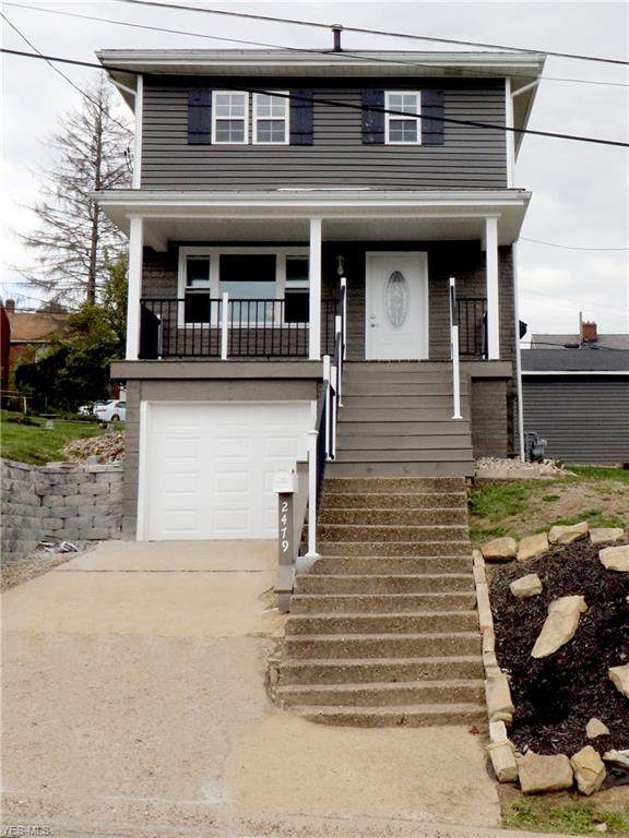 2479 Chestnut Street, Steubenville, OH 43952 (MLS #4225678) :: Keller Williams Chervenic Realty