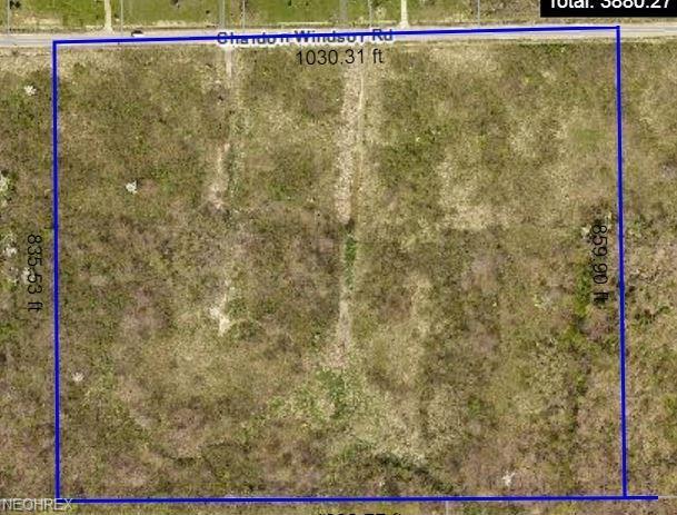 Lot 2 Chardon Windsor, Huntsburg, OH 44046 (MLS #3996365) :: The Crockett Team, Howard Hanna