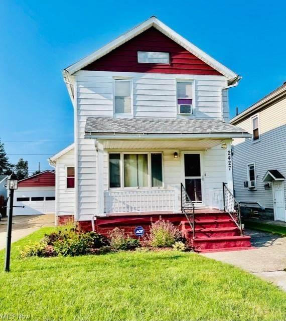 2427 E 29th Street, Lorain, OH 44055 (MLS #4300427) :: Keller Williams Chervenic Realty